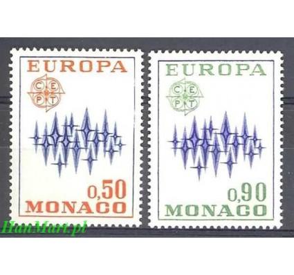 Znaczek Monako 1972 Mi 1038-1039 Czyste **
