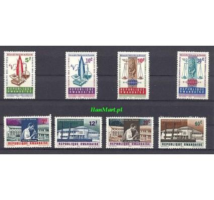 Rwanda 1965 Mi 89-96 Czyste **