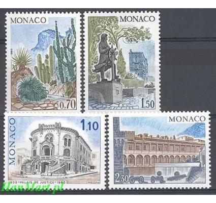 Znaczek Monako 1980 Mi 1406-1409 Czyste **