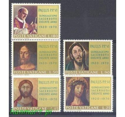 Znaczek Watykan 1970 Mi 564-568 Czyste **