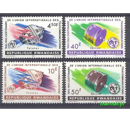 Rwanda 1965 Mi 114-117 Czyste **