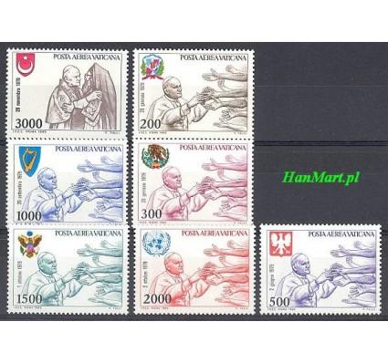 Znaczek Watykan 1980 Mi 764-770 Czyste **