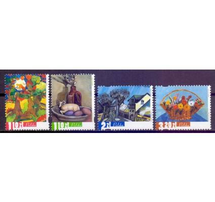 Znaczek Polska 2002 Mi 3965-3968 Fi 3815-3818 Czyste **