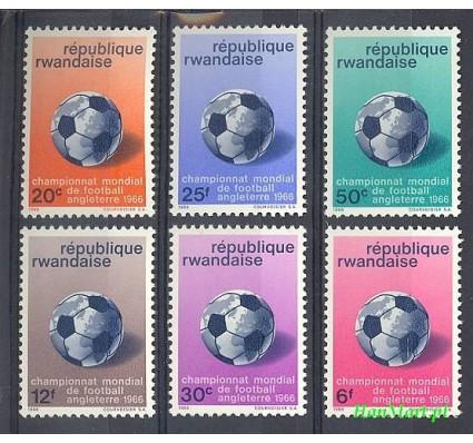 Rwanda 1966 Mi 183-188 Czyste **