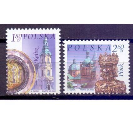 Znaczek Polska 2002 Mi 3980-3981 Fi 3830-3831 Czyste **