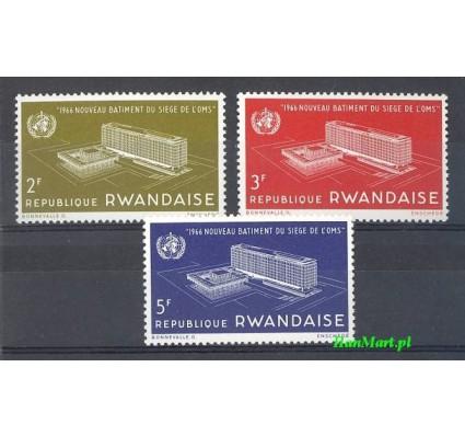 Rwanda 1966 Mi 168-170 Czyste **