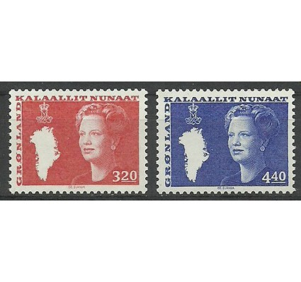Grenlandia 1989 Mi 189-190 Czyste **
