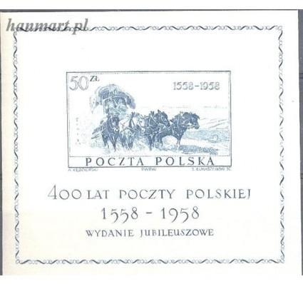 Polska 1958 Mi bl 22 Fi bl 21 Czyste **
