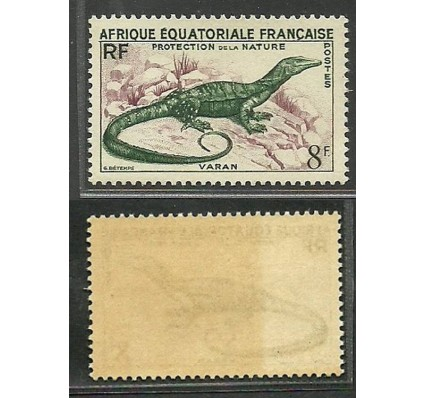 Francuska Afryka Równikowa 1955 Mi 296 Czyste **