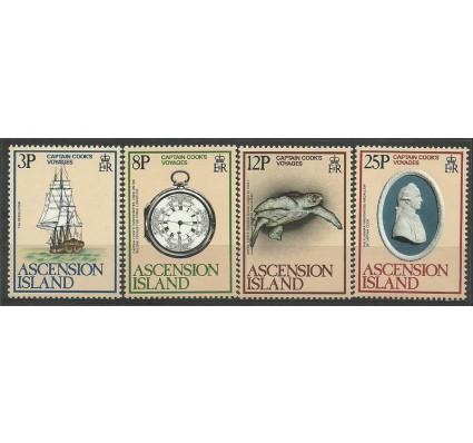 Wyspa Wniebowstąpienia 1979 Mi 237-240 Czyste **
