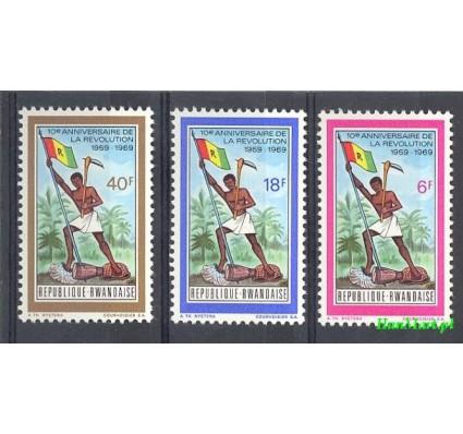 Znaczek Rwanda 1969 Mi 339-341 Czyste **