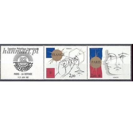 Znaczek Francja 1981 Mi 2262-2263 Czyste **