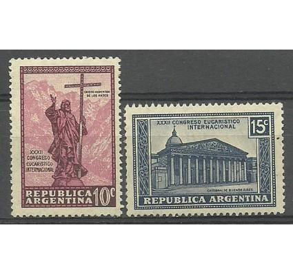 Znaczek Argentyna 1934 Mi 395-396 Z podlepką *