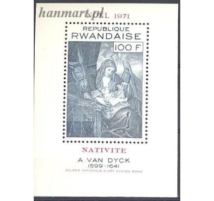 Znaczek Rwanda 1971 Mi bl 28 Czyste **