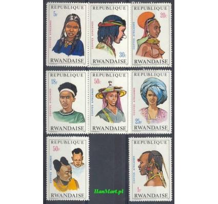 Znaczek Rwanda 1971 Mi 439-446 Czyste **
