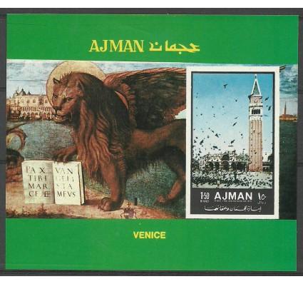 Znaczek Ajman / Adżman 1972 Mi bl 452B Czyste **