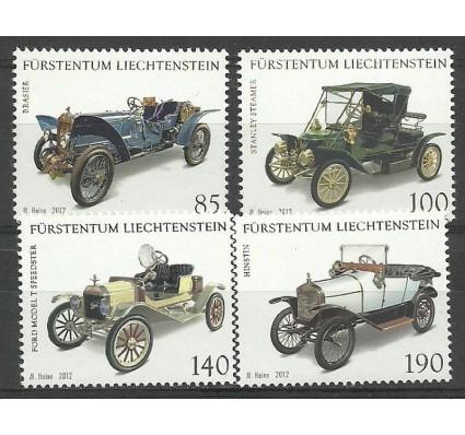 Znaczek Liechtenstein 2012 Mi 1639-1642 Czyste **