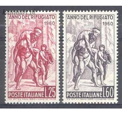 Znaczek Włochy 1960 Mi 1058-1059 Czyste **