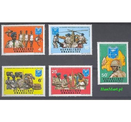 Rwanda 1972 Mi 474-478 Czyste **