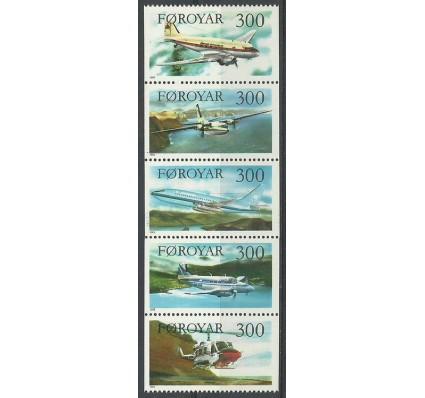 Znaczek Wyspy Owcze 1985 Mi 125-129 Czyste **