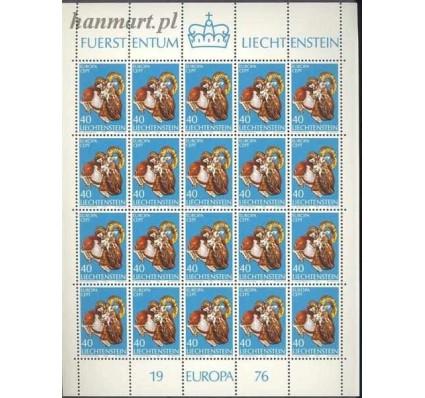 Znaczek Liechtenstein 1976 Mi ark 642 Czyste **