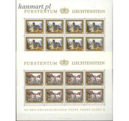 Znaczek Liechtenstein 1978 Mi ark 706-709 Czyste **