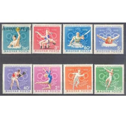 Znaczek Węgry 1970 Mi 2616-2623 Czyste **