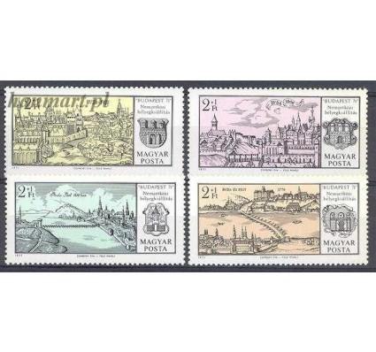 Znaczek Węgry 1971 Mi 2646-2649 Czyste **