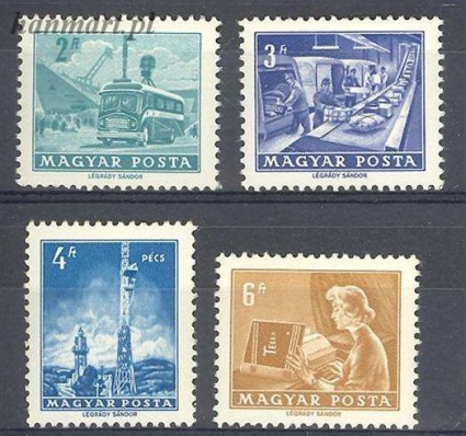 Znaczek Węgry 1973 Mi 2834-2837 Czyste **
