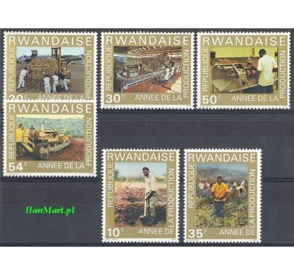 Znaczek Rwanda 1975 Mi 760-765 Czyste **