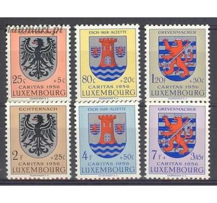 Znaczek Luksemburg 1956 Mi 561-566 Czyste **