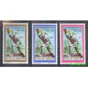 Rwanda 1974 Mi 667-669 Czyste **
