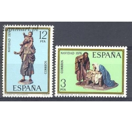 Hiszpania 1976 Mi 2261-2262 Czyste **
