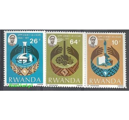 Rwanda 1977 Mi 860-862 Czyste **