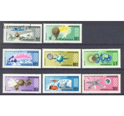 Znaczek Mongolia 1965 Mi 377-384 Czyste **