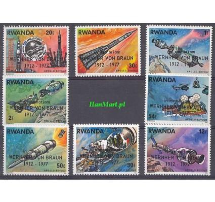 Rwanda 1977 Mi 901-908 Czyste **