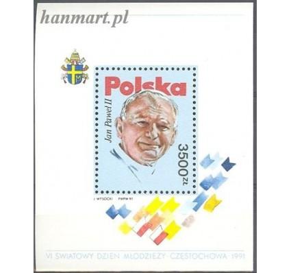 Znaczek Polska 1991 Mi bl 113 Fi bl 143 Czyste **