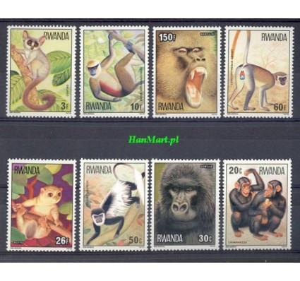 Rwanda 1978 Mi 922-929 Czyste **