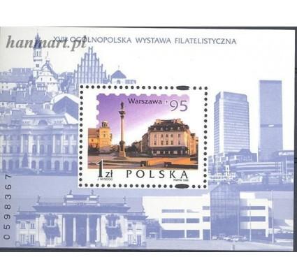 Znaczek Polska 1995 Mi bl 127 Fi bl 157 Czyste **