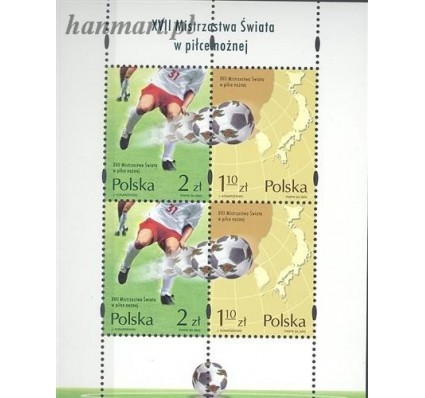 Znaczek Polska 2002 Mi bl 150 Fi bl 179I Czyste **