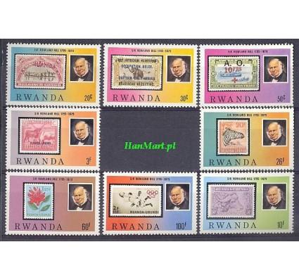 Znaczek Rwanda 1979 Mi 1011-1018 Czyste **
