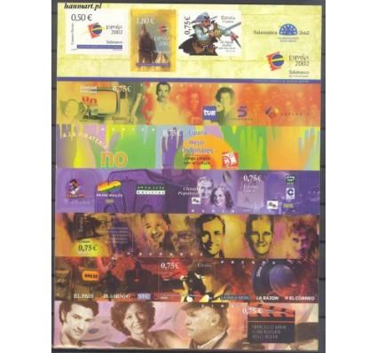 Znaczek Hiszpania 2002 Mi fol 3791-3799I Czyste **