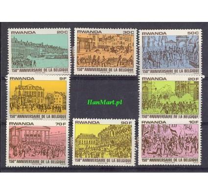 Znaczek Rwanda 1980 Mi 1077-1084 Czyste **