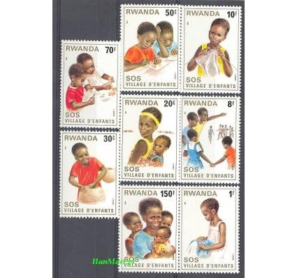 Rwanda 1981 Mi 1103-1110 Czyste **