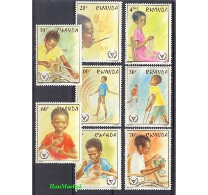Rwanda 1981 Mi 1143-1150 Czyste **