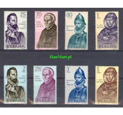 Znaczek Hiszpania 1965 Mi 1568-1575 Czyste **