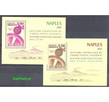 Rwanda 1967 Mi 8-8 Czyste **