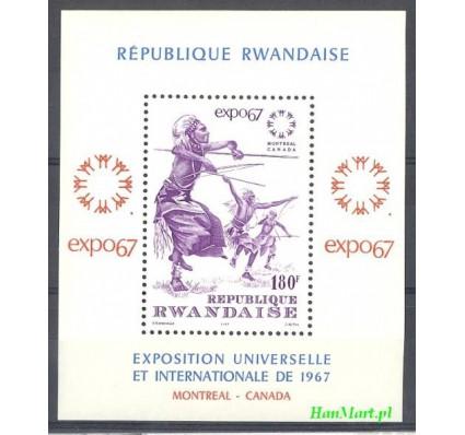 Rwanda 1965 Mi bl 9 Czyste **