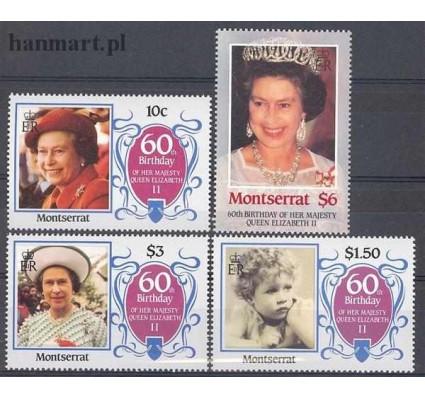 Znaczek Montserrat 1986 Mi 617-620 Czyste **