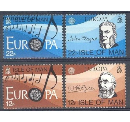 Znaczek Wyspa Man 1985 Mi 278-281 Czyste **